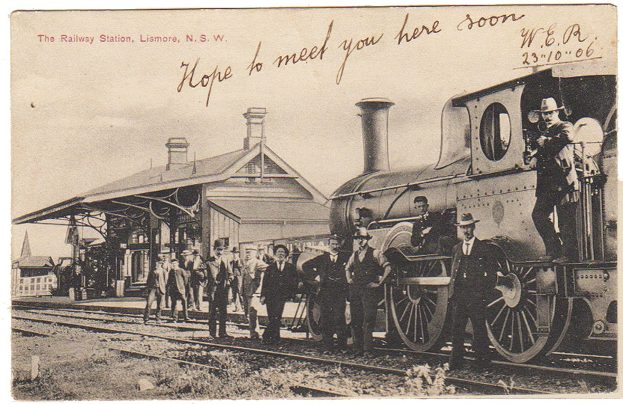 RailwayStationpostcard_CreditRichmondValleyHistoricalSociety