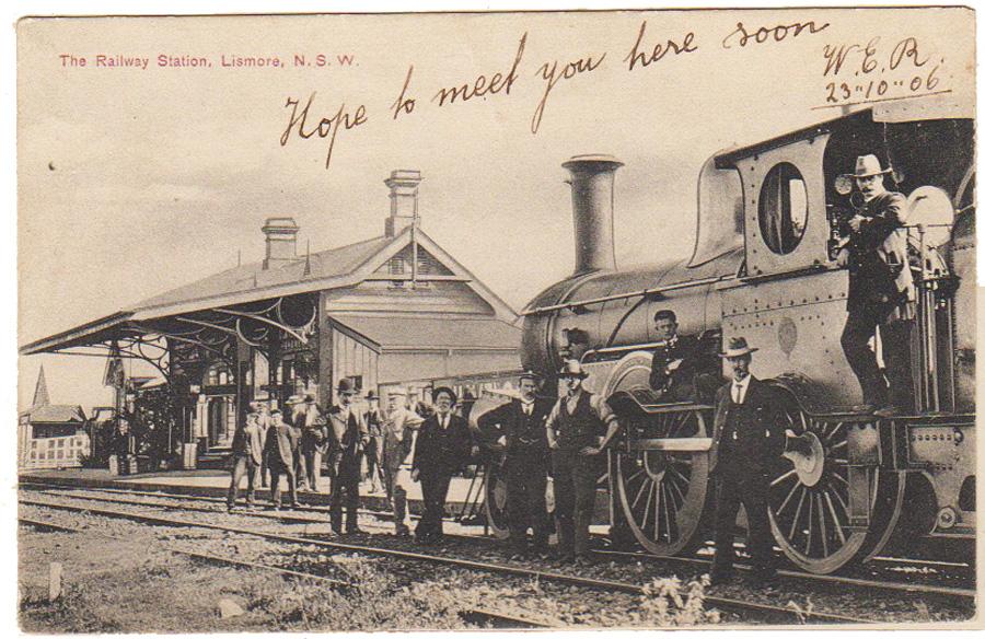 RailwayStationpostcard_CreditRichmondValleyHistoricalSociety